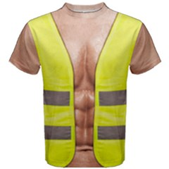 Builder Construction Worker Men s Cotton Tee by daydreamer
