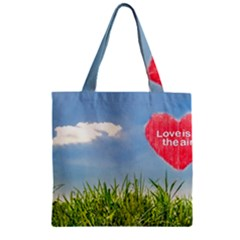 Love Concept Poster Zipper Grocery Tote Bag by dflcprints