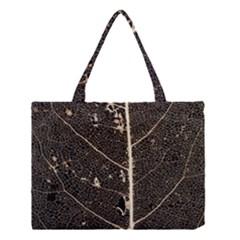 Vein Skeleton Of Leaf Medium Tote Bag by BangZart