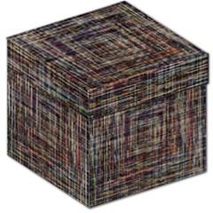 Unique Pattern Storage Stool 12