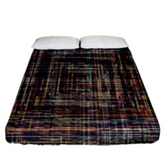 Unique Pattern Fitted Sheet (queen Size) by BangZart