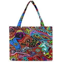 Vector Art Pattern Mini Tote Bag by BangZart