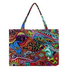 Vector Art Pattern Medium Tote Bag