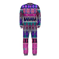 Tribal Seamless Aztec Pattern Onepiece Jumpsuit (kids)