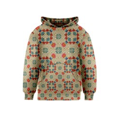 Traditional Scandinavian Pattern Kids  Pullover Hoodie