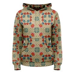 Traditional Scandinavian Pattern Women s Pullover Hoodie