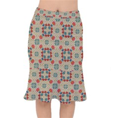 Traditional Scandinavian Pattern Mermaid Skirt