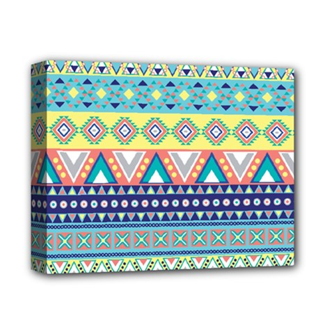 Tribal Print Deluxe Canvas 14  X 11  by BangZart