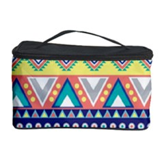 Tribal Print Cosmetic Storage Case by BangZart