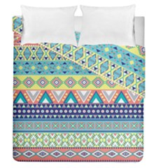 Tribal Print Duvet Cover Double Side (queen Size)