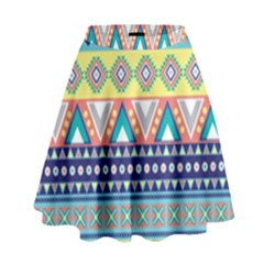Tribal Print High Waist Skirt by BangZart