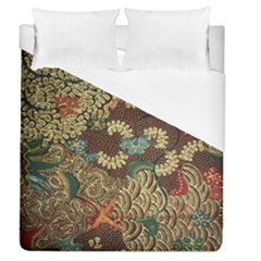 Traditional Batik Art Pattern Duvet Cover (queen Size) by BangZart