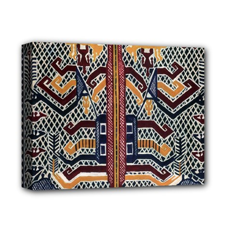 Traditional Batik Indonesia Pattern Deluxe Canvas 14  X 11  by BangZart