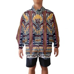 Traditional Batik Indonesia Pattern Wind Breaker (kids)