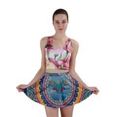 Traditional Pakistani Art Mini Skirt
