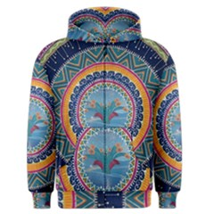 Traditional Pakistani Art Men s Zipper Hoodie by BangZart