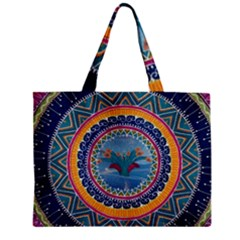 Traditional Pakistani Art Zipper Mini Tote Bag