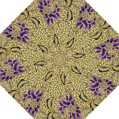 Traditional Art Batik Pattern Golf Umbrellas by BangZart