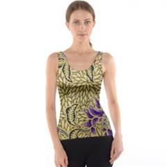 Traditional Art Batik Pattern Tank Top