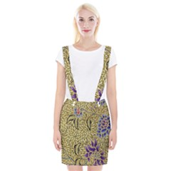 Traditional Art Batik Pattern Braces Suspender Skirt