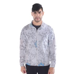 Traditional Art Batik Flower Pattern Wind Breaker (men)