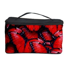 The Red Butterflies Sticking Together In The Nature Cosmetic Storage Case by BangZart
