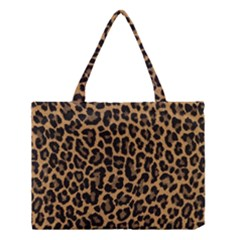 Tiger Skin Art Pattern Medium Tote Bag by BangZart