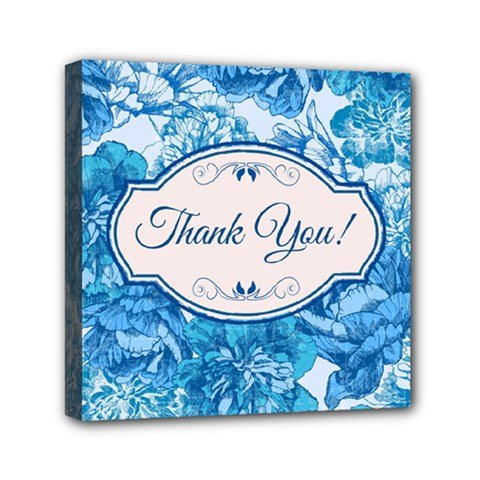 Thank You Mini Canvas 6  X 6  by BangZart