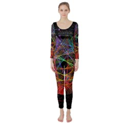 The Art Links Pi Long Sleeve Catsuit by BangZart