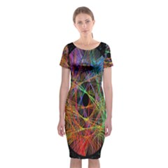 The Art Links Pi Classic Short Sleeve Midi Dress