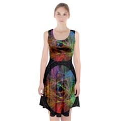 The Art Links Pi Racerback Midi Dress