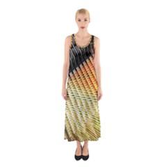 Technology Circuit Sleeveless Maxi Dress