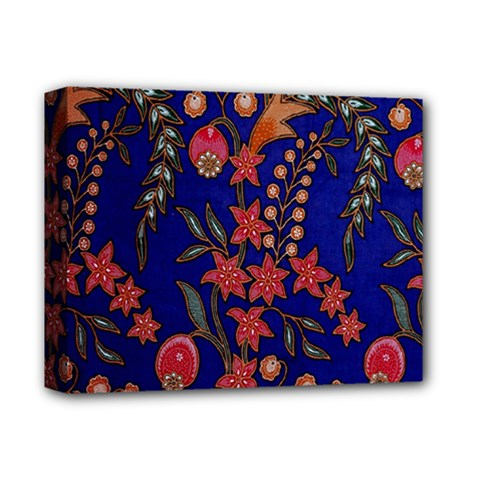 Texture Batik Fabric Deluxe Canvas 14  X 11  by BangZart