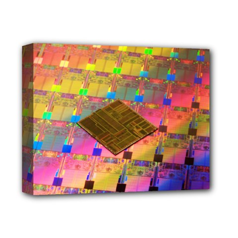 Technology Circuit Pentium Die Deluxe Canvas 14  X 11  by BangZart