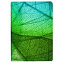 Sunlight Filtering Through Transparent Leaves Green Blue Apple iPad Pro 9.7   Flip Case View1