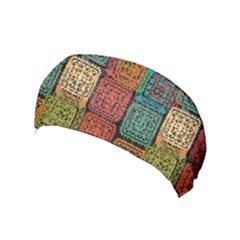 Stract Decorative Ethnic Seamless Pattern Aztec Ornament Tribal Art Lace Folk Geometric Background C Yoga Headband
