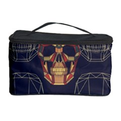 Skull Pattern Cosmetic Storage Case