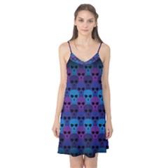 Skull Pattern Wallpaper Camis Nightgown