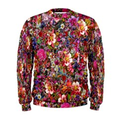 Psychedelic Flower Men s Sweatshirt
