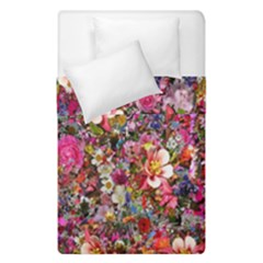Psychedelic Flower Duvet Cover Double Side (single Size)