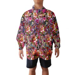 Psychedelic Flower Wind Breaker (kids)