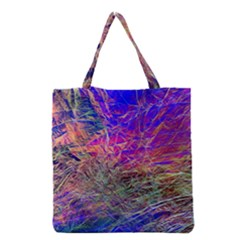 Poetic Cosmos Of The Breath Grocery Tote Bag by BangZart