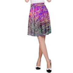 Poetic Cosmos Of The Breath A Line Skirt