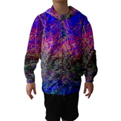 Poetic Cosmos Of The Breath Hooded Wind Breaker (kids)