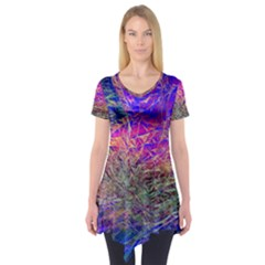Poetic Cosmos Of The Breath Short Sleeve Tunic