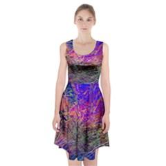 Poetic Cosmos Of The Breath Racerback Midi Dress