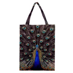 Peacock Classic Tote Bag by BangZart