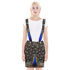 Peacock Braces Suspender Skirt