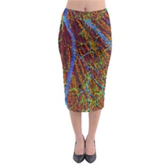 Neurobiology Midi Pencil Skirt by BangZart
