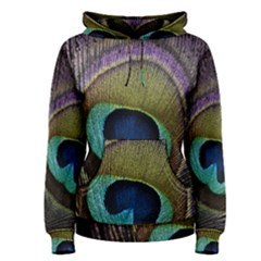Peacock Feather Women s Pullover Hoodie